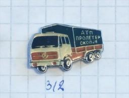 MERCEDES BENZ  - ATP Auto Transport Of Skoplje (Macedonia) TRUCK CAMION LKW Bus Automobile Motoring, Voiture Car Auto - Mercedes
