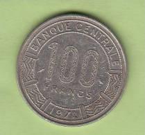 Pièce - Gabon - République Gabonaise  - 100 Francs - 1972 - Gabon