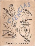 Ciências - Livro Dos Finalistas Da Faculdade De Ciências, Porto, 1946 (3 Scans) - Schulbücher