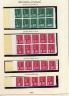 BECQUET Tropique   Carnets De 20,  10 Et 5   Exemplaires  +++ Cote 180 Euros - Booklets