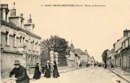 CPA  SAINT  AMAND  MONTROND - Saint-Amand-Montrond
