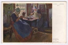 Postcard - Illustrators Signed, Alfred J. Jirasek     (9674) - Altre Illustrazioni