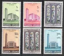 Ruanda - Urundi  OCB 225 / 230 (**) - Ruanda-Urundi