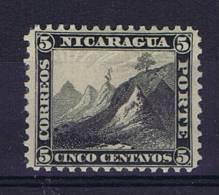 Nicaragua, 1869 Mi 5 MH/*