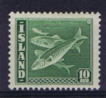 Iceland: Michel 215A Perfo 14    1940 MNH/**, - 1918-1944 Autonomous Administration