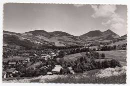 Cpsm 74 - Villard Sur Boege - Vue Sur La Haute Vallée Et Le Mont Forchat - 1958 (9x14 Cm) - France