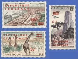 CAMEROUN PA 49 + PA 50 + PA 51 NEUFS ** - Cameroon (1960-...)