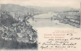 Hongrie - Budapest -  Gruss - Postmark 1898 - Hungary