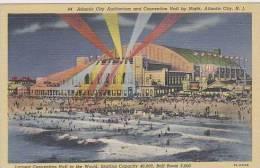 New Jersey Atlantic City Atlantic City Auditorium And Convention Hall By Night - Atlantic City