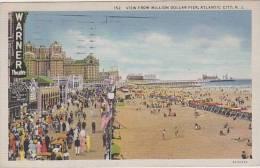 New Jersey Atlantic City View From Millon Dollar Pier - Atlantic City