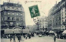 CPA PARIS RUE MONGE - District 05