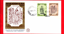 Nuovo - ITALIA - 1975 - FDC - Filagrano - Boccaccio - 1946-.. République