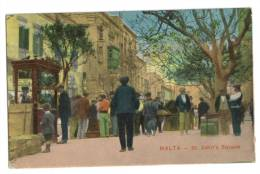 Malte St John's Square - Malta