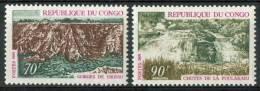 1970 Congo Paesaggi Landscapes Paysages Set MNH** No131 - Geologia