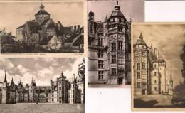 13 / 4 / 215  -  4 CP  &  CPSM  DE  CHÂTEAU MEILLANY ( 18 ) - Cartoline