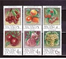 1986 Various Fruit Michel Catalogue N°  3848/53A   Perfect MNH ** - Fruits