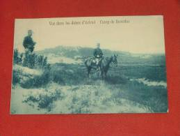 LEOPOLDSBURG - Camp De Beverloo  - Vue Dans Les Dunes D´ Hechtel  -   1912    -  (2 Scans) - Leopoldsburg (Kamp Van Beverloo)