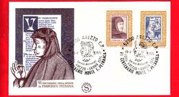 Nuovo - ITALIA - 1974 - FDC - Filagrano - V Centenario Della Morte Di Francesco Petrarca - 6. 1946-.. Republic