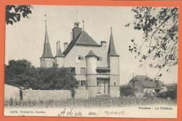 W138, Cressier , Le Château, 4574, Circulée  1905 - NE Neuchâtel