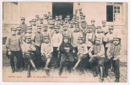 DOLE (Jura 39) -  14ème Chasseurs - Sous-officiers - Unclassified