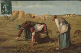 KF Postcard - Women Gathering Corn - 588 - Peintures & Tableaux