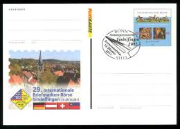 24950) BRD - Ganzsache Michel PSo - ◙ OO Erstverwendung 13.10.2011 - Briefmarken-Börse Sindelfingen - [7] West-Duitsland