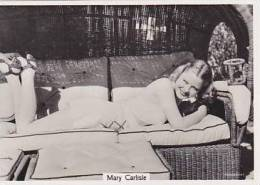 Phillips Vintage Cigarette Card Beauties Of To-Day 7th Series BDV Back 1939 No 28 Mary Carlisle - Phillips / BDV