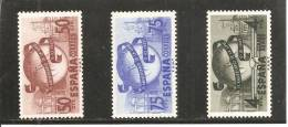 España/Spain-(MNH/**) - Edifil  1063-65 - Yvert  795-96, Aéreo-240 - 1931-50 Nuevos & Fijasellos
