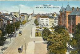 Avr13 190 : Dortmund  -  Hoher Wall Mit Krieger-Denkmal - Dortmund