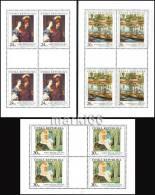 Czech Republic - 2010 - Art On Stamps - Mint Miniature Sheets Set - Ungebraucht