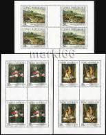 Czech Republic - 2006 - Art On Stamps - Mint Souvenir Sheet Set - Ungebraucht