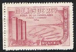 Molins De Rey 1954 3ª Exposición Industris, Comercial Y Agrícola Feria De La Candelaria Nuevo Sin Char. - Sin Clasificación