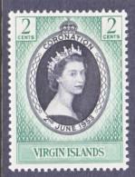 Br. Virgin Islands 114  *  CORONATION Q E II - British Virgin Islands