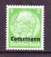 German Occupation Lorraine N45  * - Occupation 1914-18