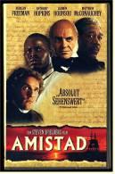 VHS Video ,  Amistad  -  Mit Morgan Freeman ,  Anthony Hopkins ,  Matthew McConaughey  -  Von 1998 - Video Tapes (VHS)