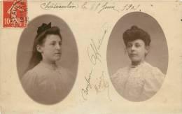 29 CHATEAULIN CARTE PHOTO 1909 - Châteaulin
