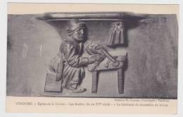 BLOIS - LE CHATEAU -EGLISE DE LA TRINITE - LES STALLES FIN DU XVe SIECLE - FABRICANT DE CHANDELLES DE RESINE - Vendome