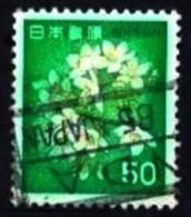 Japan: 'Kirschblüten, 1980' / 'Cherry Blossoms', (I) Mi. 1443; Yv. 1345; Sc. 1417 Oo - 1926-89 Emperor Hirohito (Showa Era)