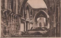 C1920 GLASTONBURY ABBEY - ST JOSEPH'S CHAPEL - INTERIOR - England