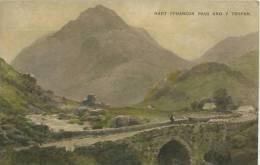 NORTH WALES - NANT FFRANCON PASS AND Y TRYFAN By BREANSKI - Caernarvonshire