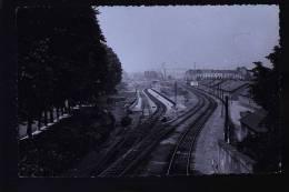 NANTE GARE CARTE  PHOTO DE 1955 - Nantes