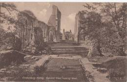 C1920 GLASTONBURY ABBEY - GENERAL VIEW LOOKING WEST - England