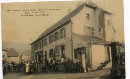 90   ROUGEMONT  Le  CHÂTEAU         Ed  BARDIN    Boucherie Charcuterie  Hôtel Restaurant - Rougemont-le-Château