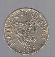 COLOMBIA -  50 Pesos 1994  KM283 - Colombia