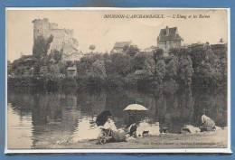 03 - BOURBON L´ARCHAMBAULT --  L'Etang Et Les Ruines - Bourbon L'Archambault
