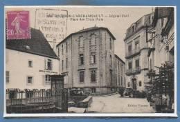 03 - BOURBON L´ARCHAMBAULT --  Hôpital Civil...... - Bourbon L'Archambault