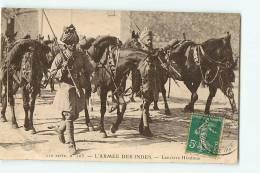 Lanciers Hindous. Armée Des Indes. 2 Scans. Edition Guiraud - Guerre 1914-18