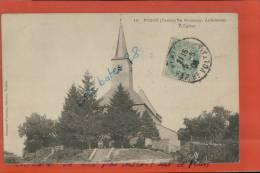 CPA  08, FOSSE, Canton De BUZANCY, L'Eglise,  Scènes & Types, Groupe De Personnages,   AVRIL 2013 091 - Autres Communes