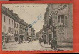CPA  57, SAINT-AVOLD, Rue Président Poincarré, Personnages,  ,  AVRIL 2013 105 - Saint-Avold