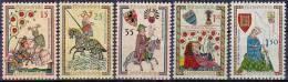 Liechtenstein 1961 / MiNr. 406 - 410 ** / MNH       (i307) - Ungebraucht